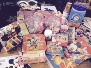 DisneySide party kit.